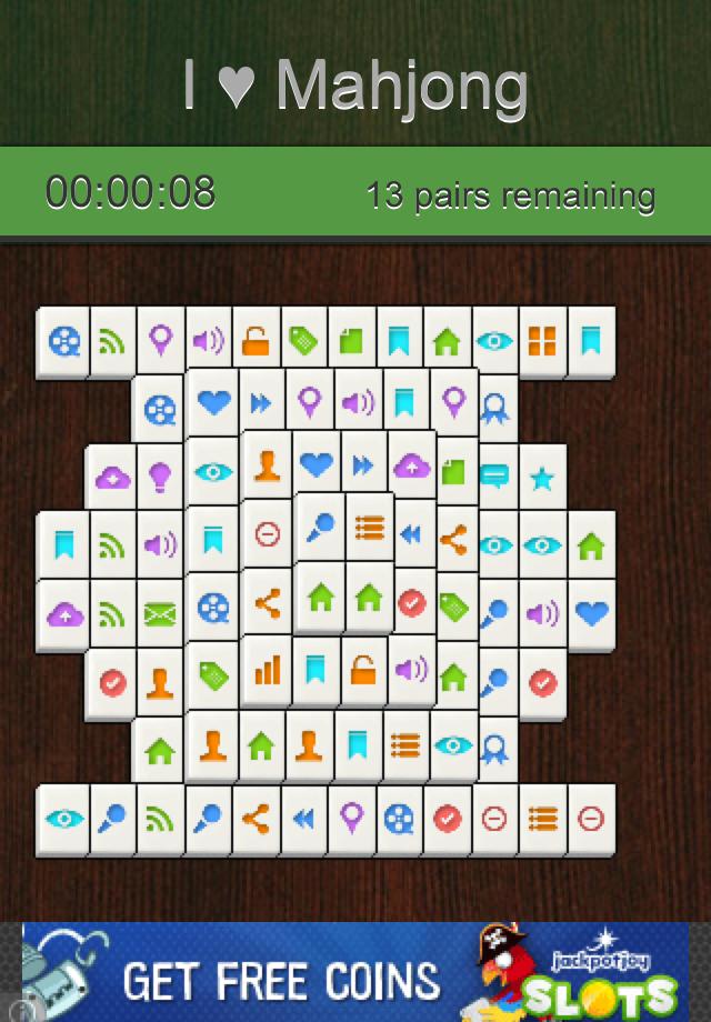 Screenshot I Love Mahjong